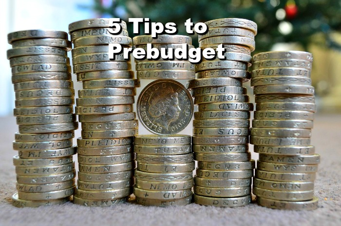 5 Tips to Prebudget